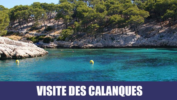 Visite des Calanques de Marseille Cassis