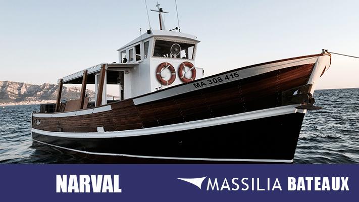 Barque hugo massilia bateaux location bateau marseille - Promenade bateau marseille vieux port ...